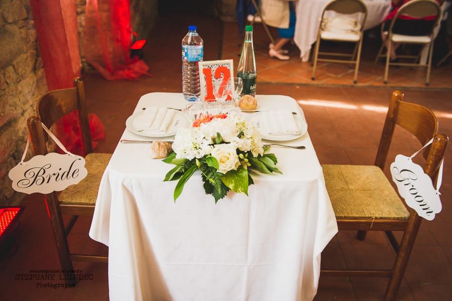 Mariage Américain au manoir de Kercadio Diner-3