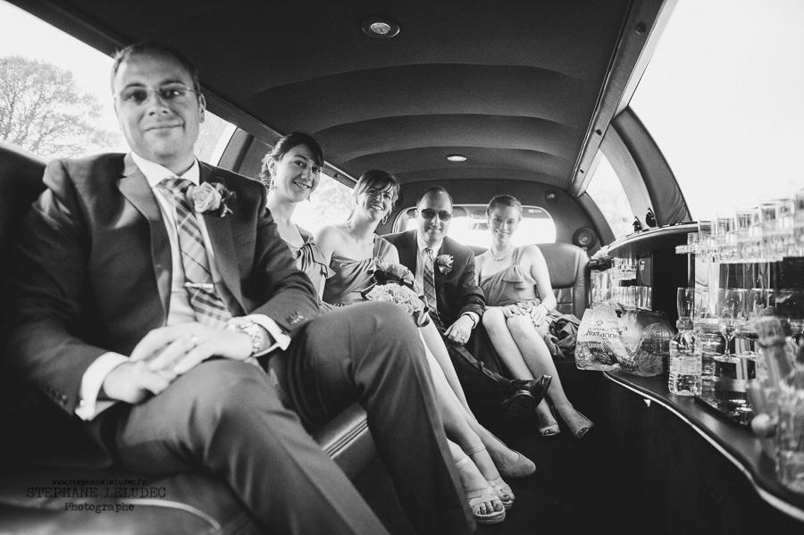 Mariage Américain au manoir de Kercadio couple-62