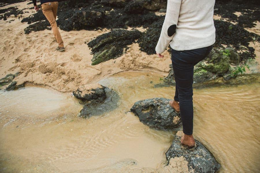 Séance engagement pluvieuse à St Lunaire CLAIRE-ET-BERTRAND-ENGAGEMENT-16