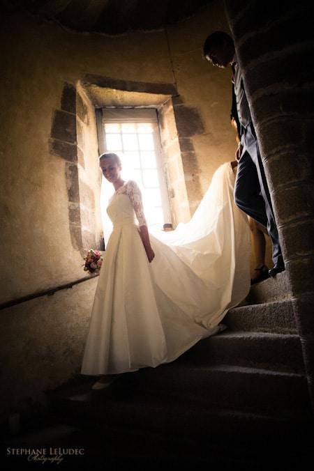 Mariage au château de Bourgon preparatifs-2011