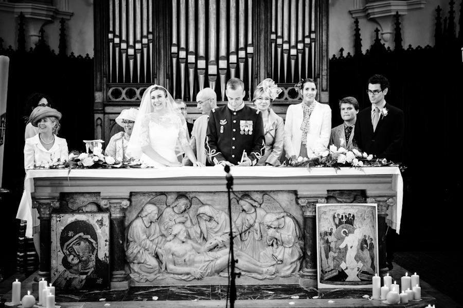 Mariage au domaine de Lafayette Eglise-148