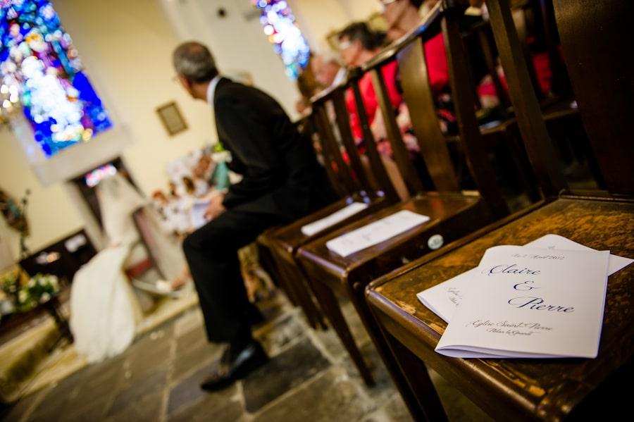 Mariage au domaine de Lafayette Eglise-76