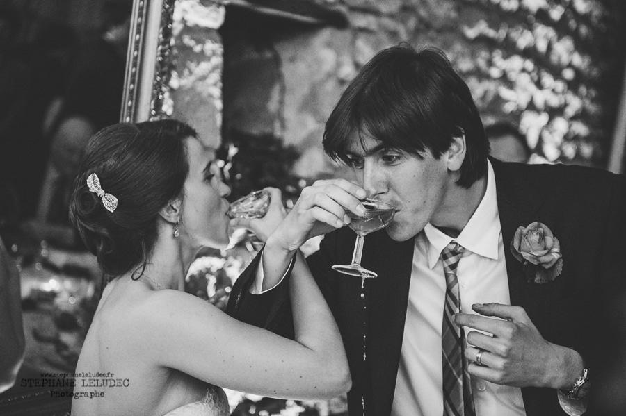 Mariage au manoir de Kercadio Diner-200