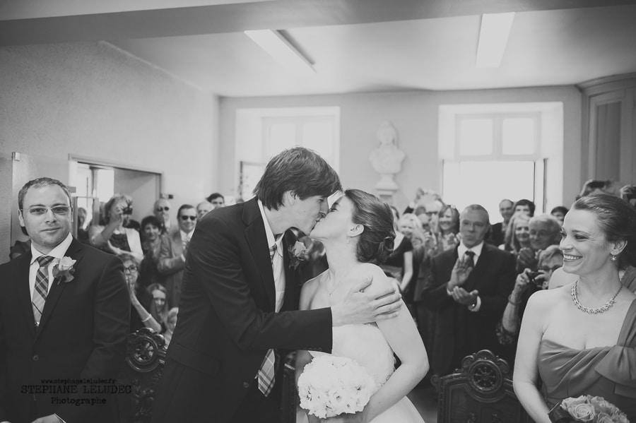 Mariage au manoir de Kercadio Mairie-112