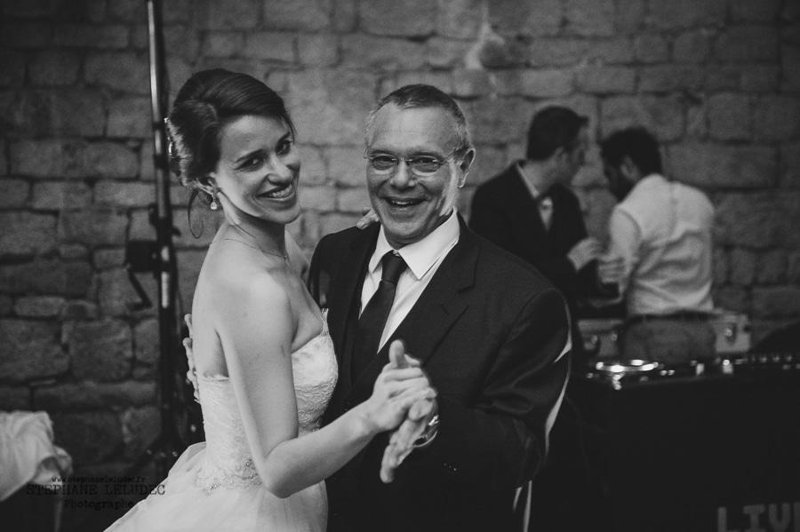 Mariage au manoir de Kercadio bal-9
