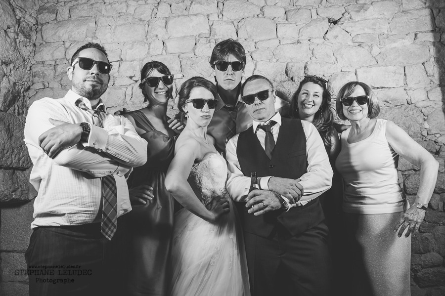 Mariage au manoir de Kercadio photobooth-44-2