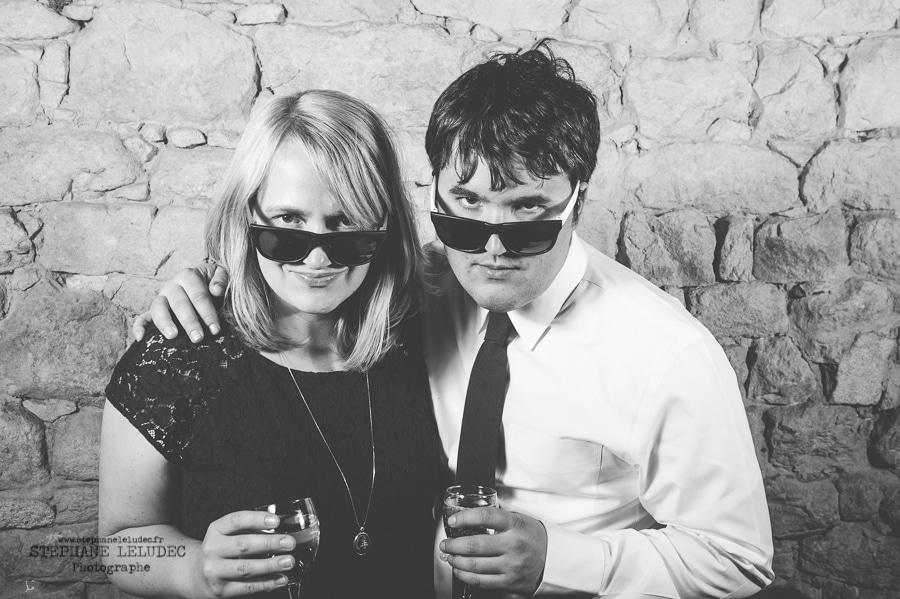 Mariage Américain au manoir de Kercadio photobooth-50