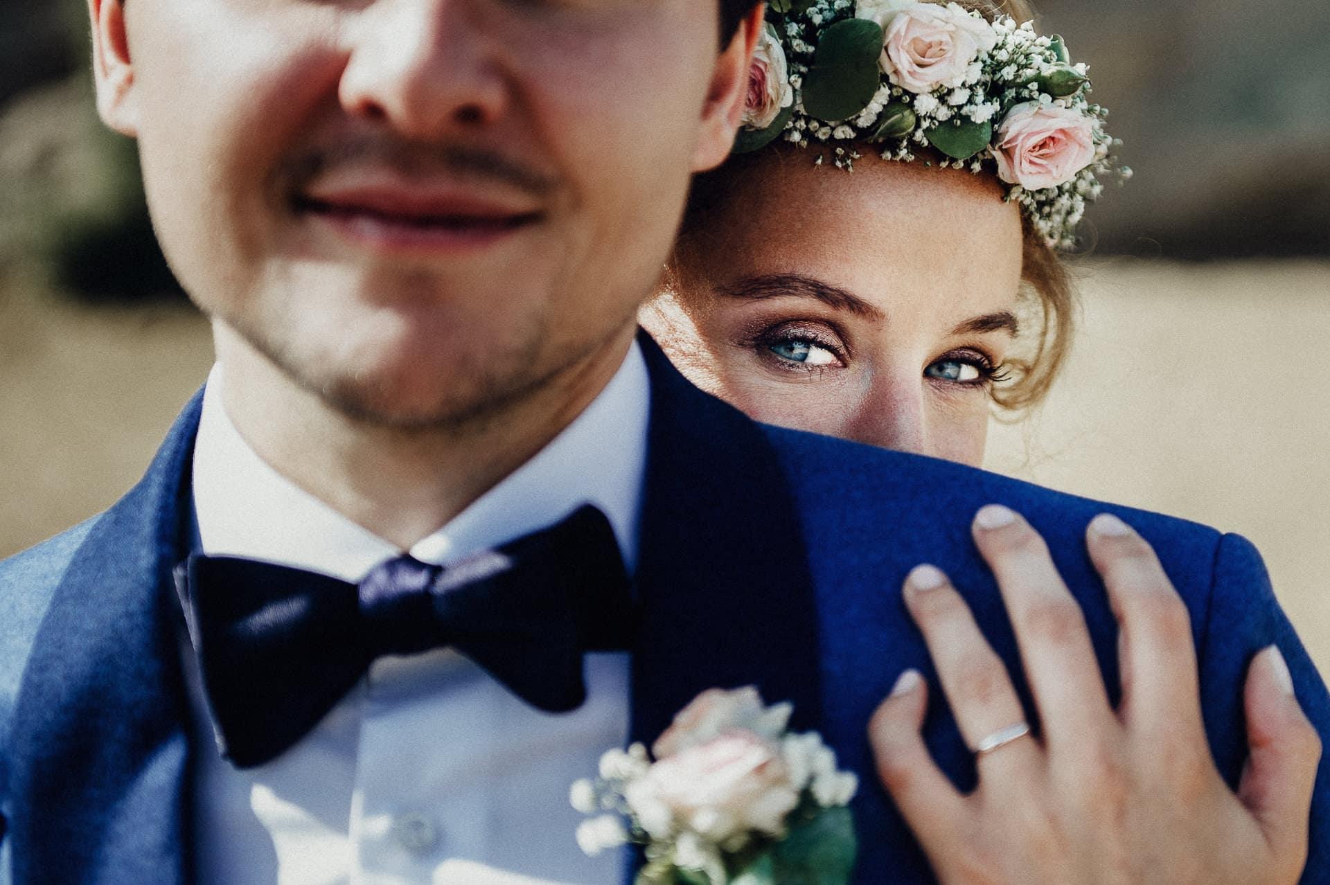 mariage boheme chic bor de mer