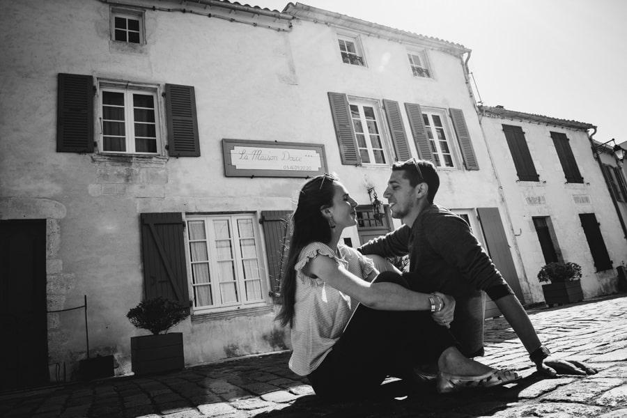 Love session sur l'île de Ré MELANIE-ET-ALEXANDRE-ENGAGEMENT-15