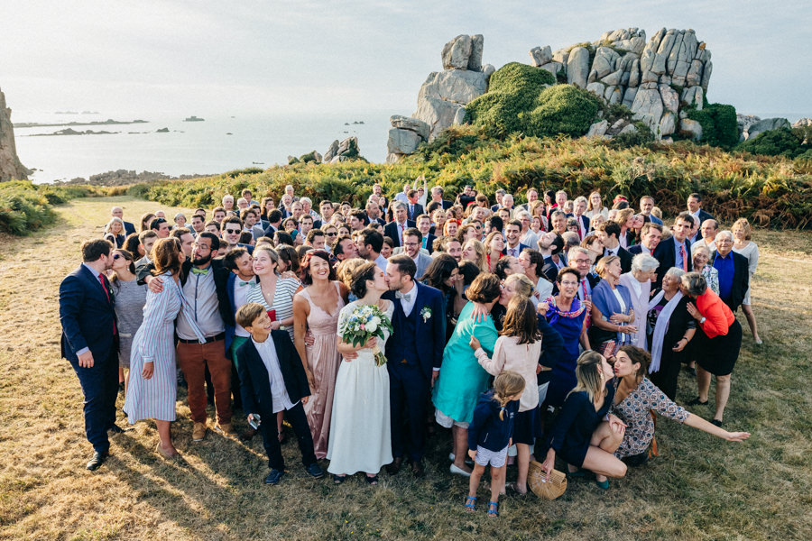 Private wedding on French coast mariage-plougrescant-bretagne-photographe-leludec-105