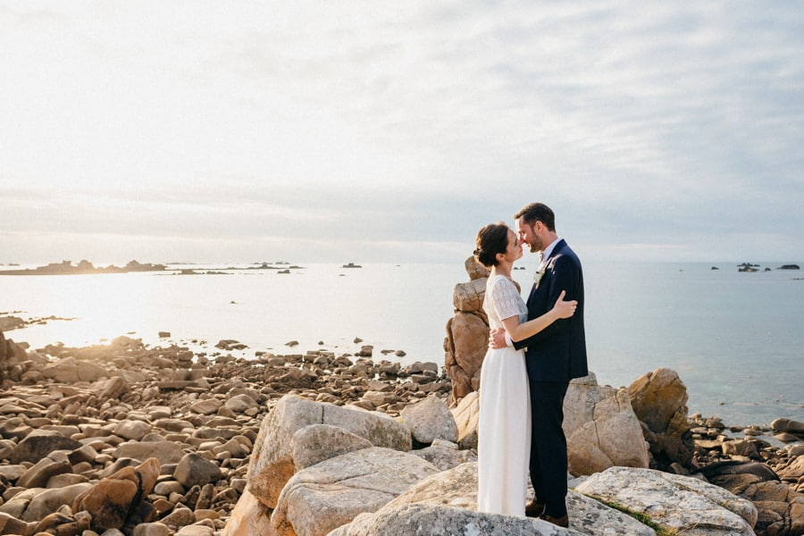 Private wedding on French coast mariage-plougrescant-bretagne-photographe-leludec-109