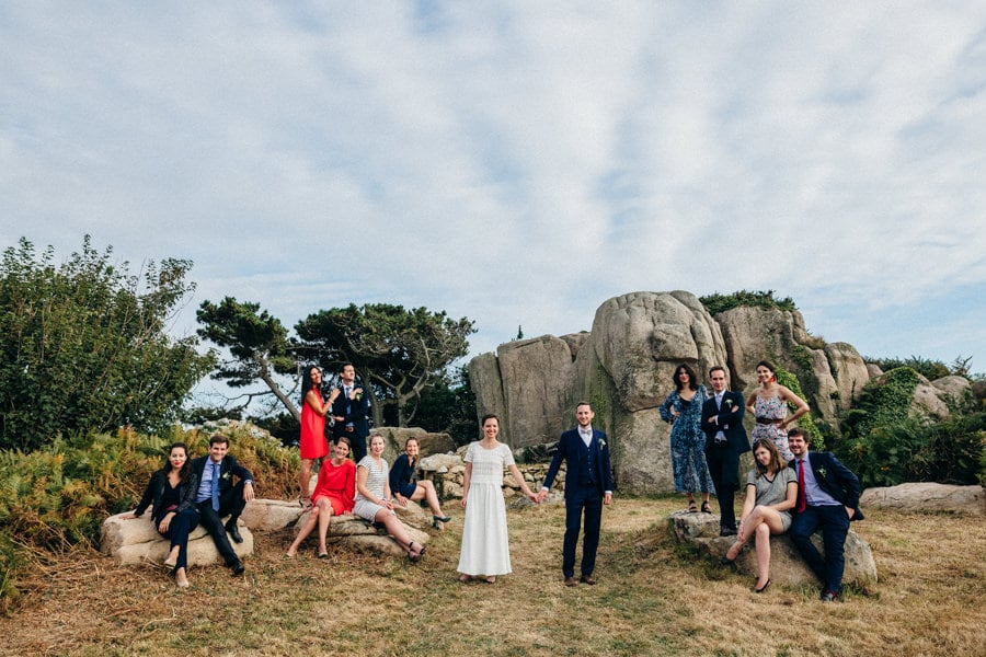 Private wedding on French coast mariage-plougrescant-bretagne-photographe-leludec-87