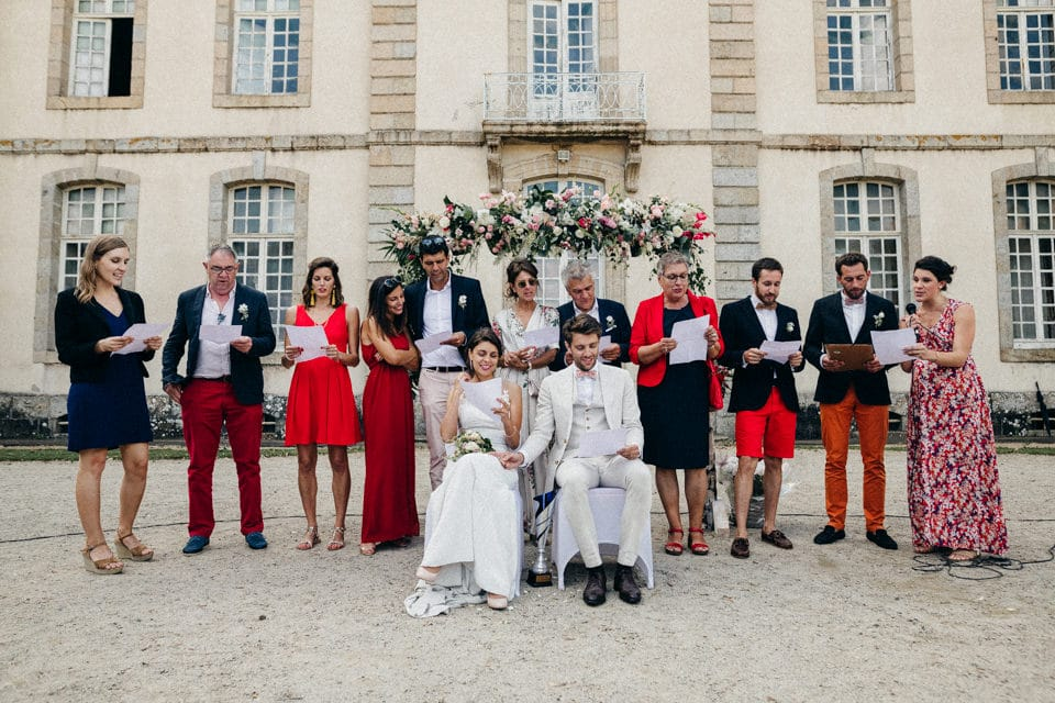 A wedding at chateau de Pommorio photo-mariage-bretagne-45