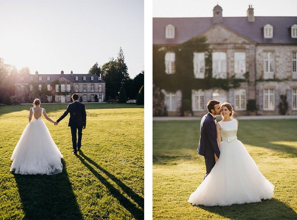 Mariage chic au château de la Rouërie 04